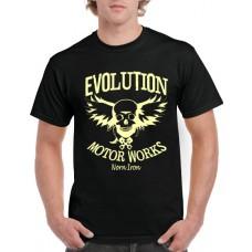 Evolution Flying Skull T