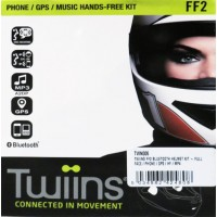 Twiins FF2 Hands-free Bluetooth Communication System