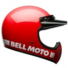Bell Moto 3 Classic Red
