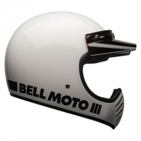 Bell Moto 3 Classic White