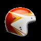 Bell Custom 500 Copper head orange